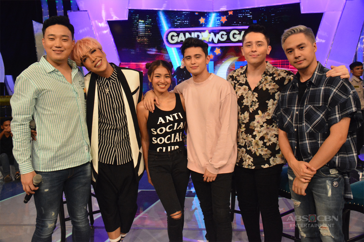 PHOTOS: Usapang Lalake on GGV with James, Bret, Sam and Ryan