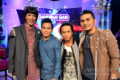 PHOTOS: #GGVWinnerSaSaya with Tawag Ng Tanghalan Top 3 Noven, Sam & Froilan