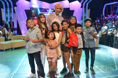 PHOTOS: The 8 celebrity kids of Your Face Sounds Familiar on GGV