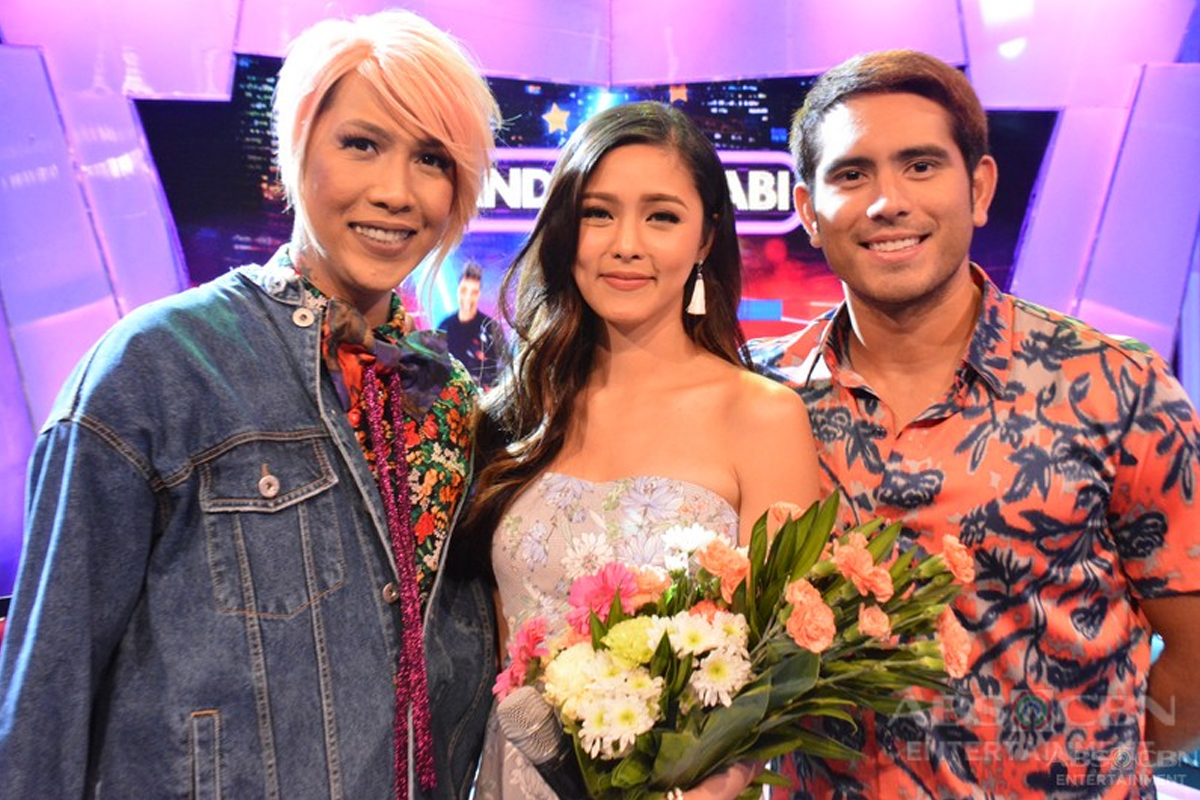 PHOTOS: Kim and Gerald on GGV