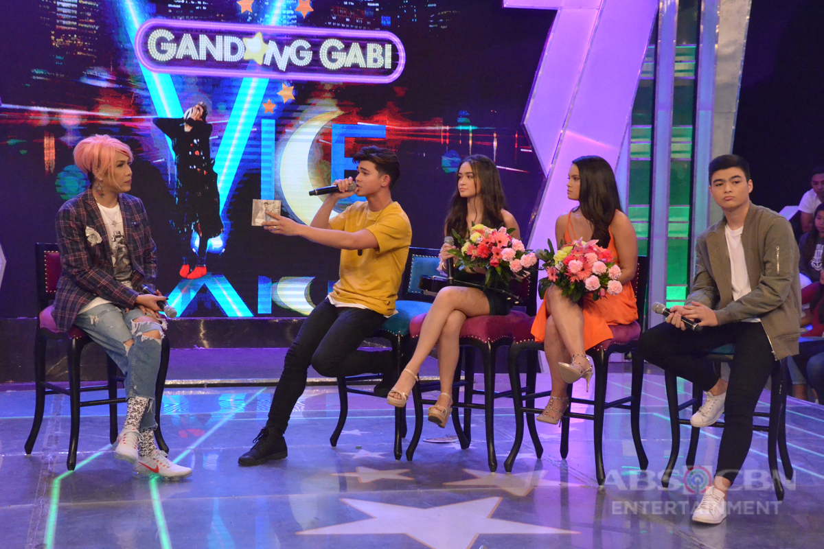 #GGVAnakNgSikat PHOTOS: Get to know more about Inigo, Leila, Angelina and Andre on GGV