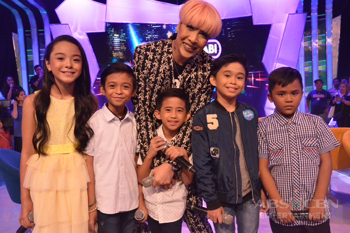 PHOTOS: Kulitan with the small but terrible kids of Tawag Ng Tanghalan sa GGV