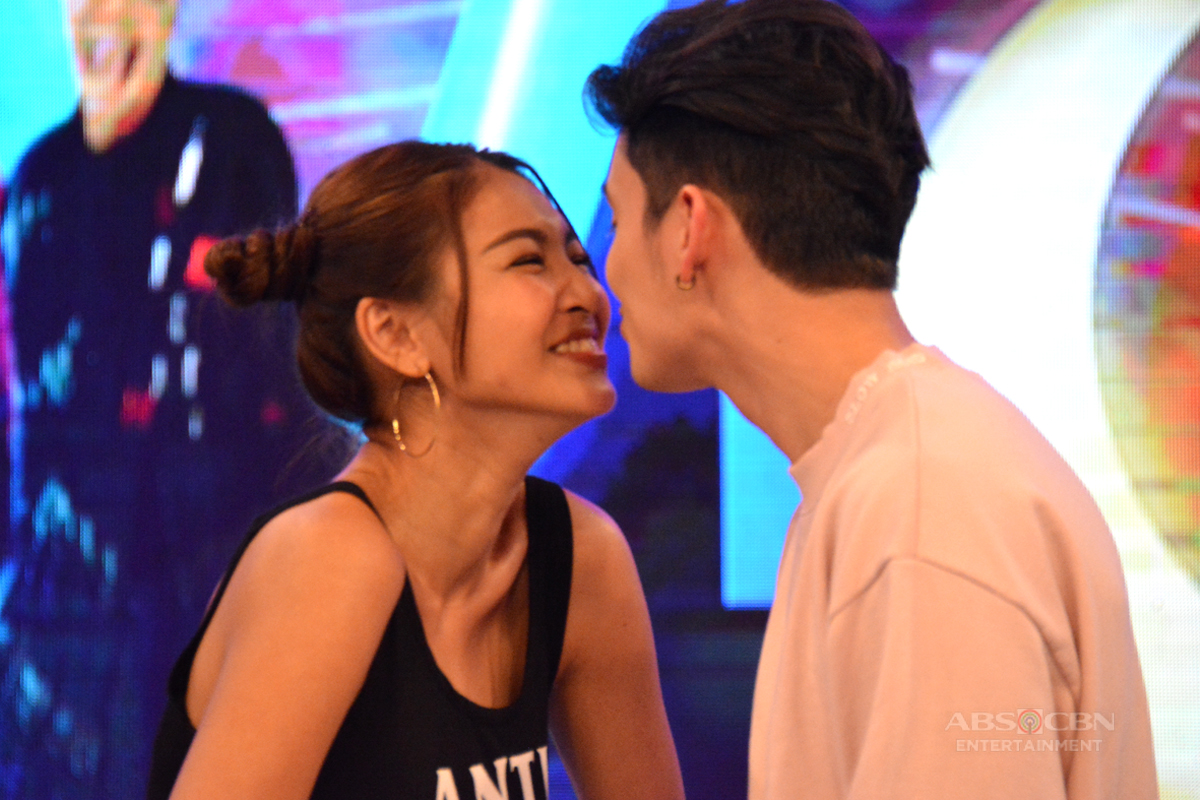 CAPTURED ON CAM: JaDine's Nose to Nose on GGV