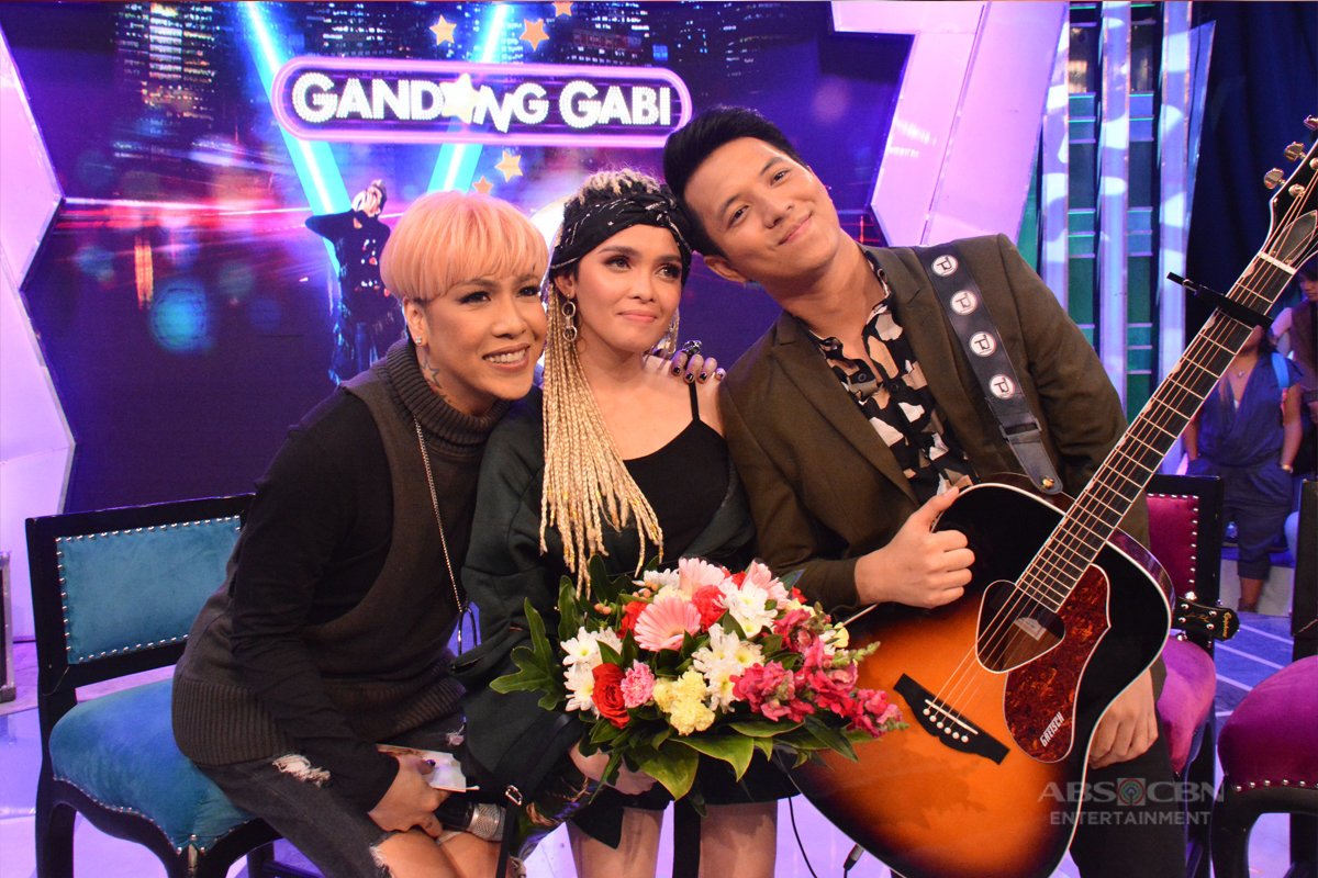PHOTOS: KZ Tandingan and TJ Monterde on #GGVIpagLOVEanMo