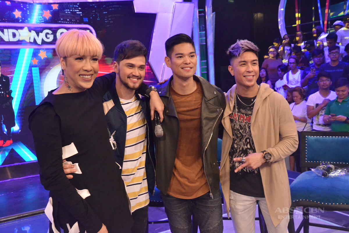 PHOTOS: Soul Brothers Billy, Kris and JayR on GGV