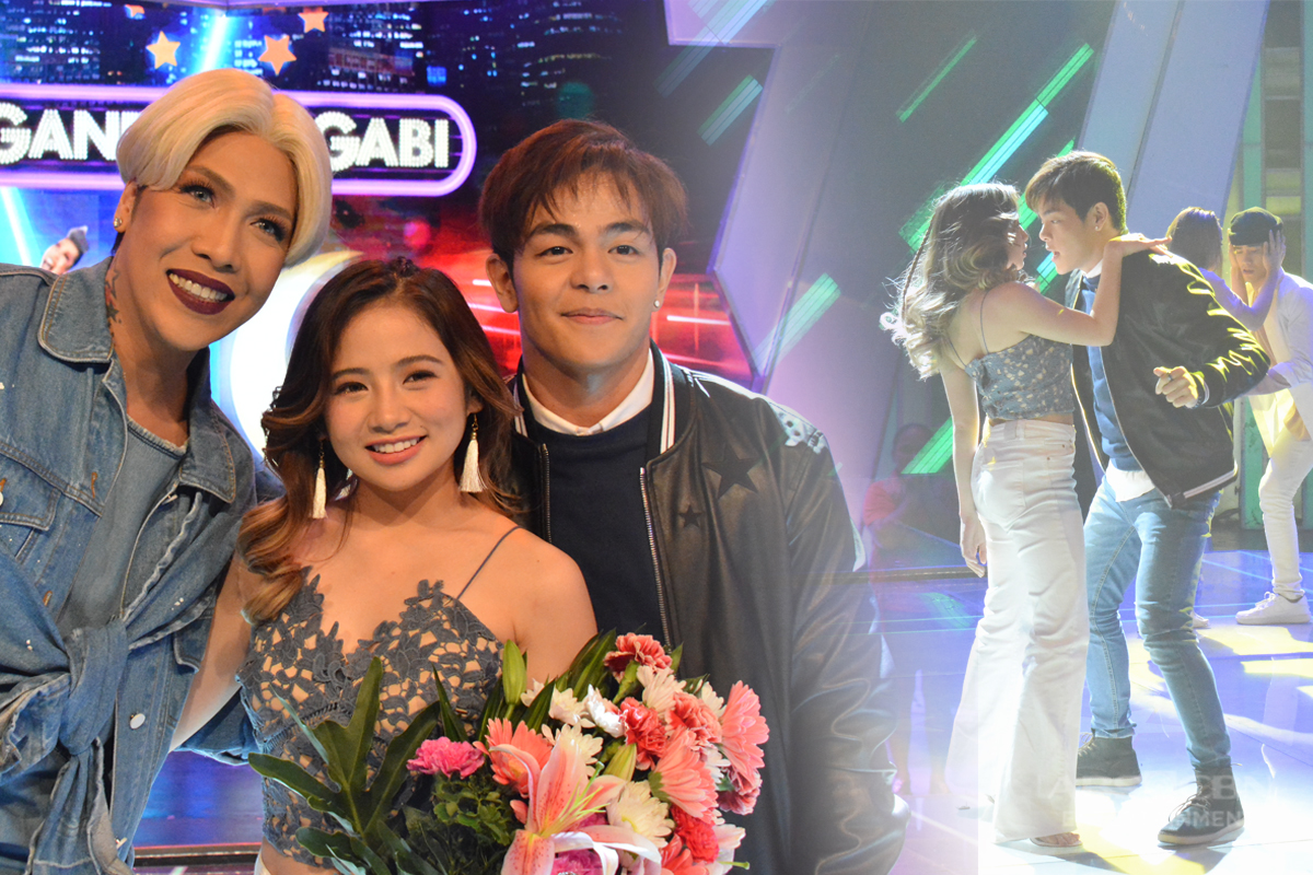 PHOTOS: Sayawan at kulitan with Ella Cruz and Julian Trono!