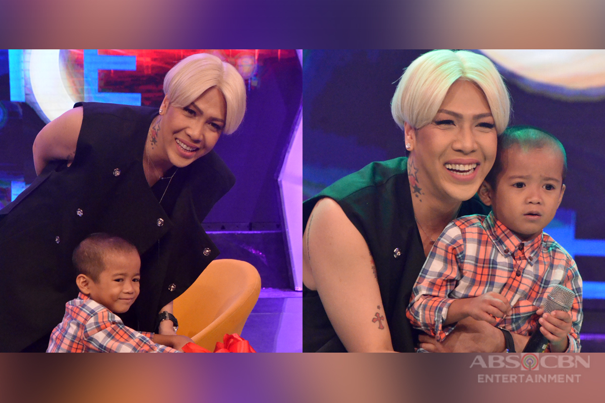 PHOTOS: Gigil Queen Vice Ganda meets Gigil Kid Carlo Mendoza