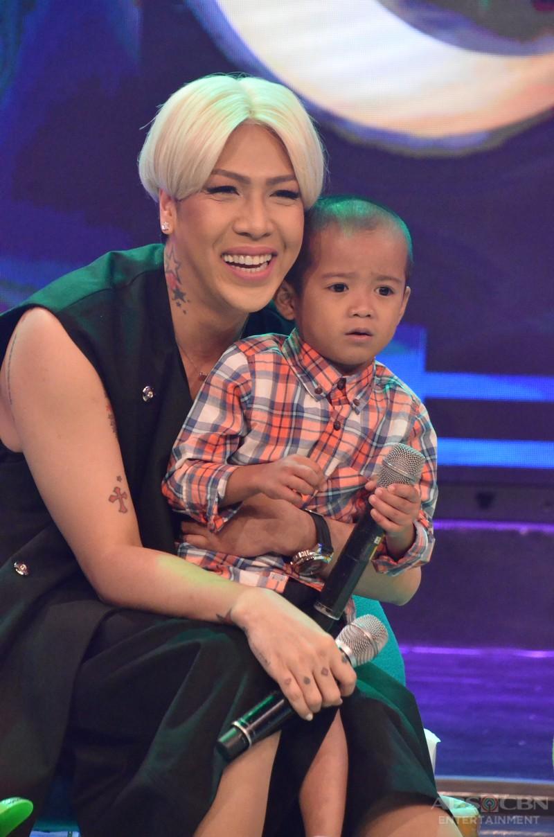 photos gigil queen vice ganda meets gigil kid carlo mendoza