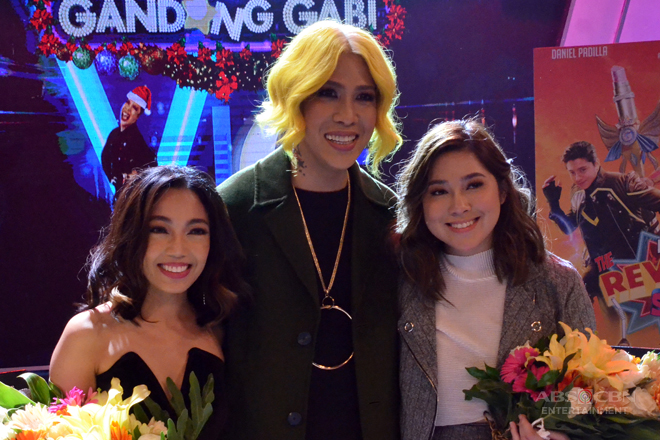 PHOTOS: #GGVRavan with Jona and Moira dela Torre