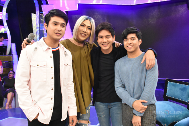 PHOTOS: #GGVTheGoodSaya with Jerome, Joshua and Nash
