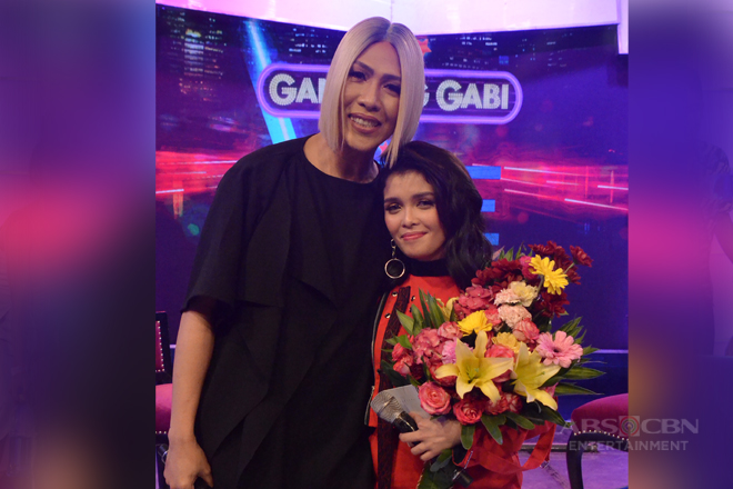 PHOTOS: #GGVKZyahan with KZ Tandingan