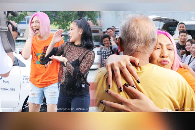 "LOOK: Behind the scenes of Vice Ganda and Anne Curtis' ""LOL Trip"" on GGV!"