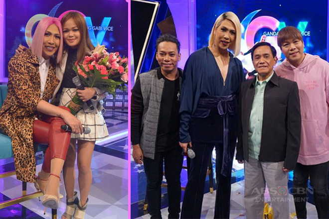 PHOTOS: #GGVGuiltySaSaya with Janine Berdin, Gus Abelgas, MC and Lassy