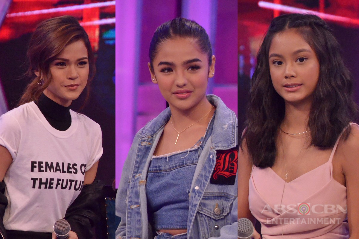GGV ONLINE EXCLUSIVE: Touch the nose challenge with Maris, Andrea, and Ylona!