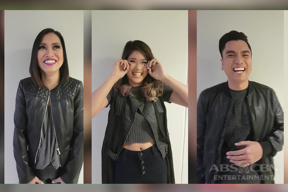 GGV ONLINE EXCLUSIVE: Eumee, Gidget, and Jex do the 'Bahay Kubo' challenge