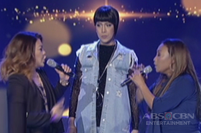 Vice, hindi makasingit sa vocal showdown nina Jaya at Lani