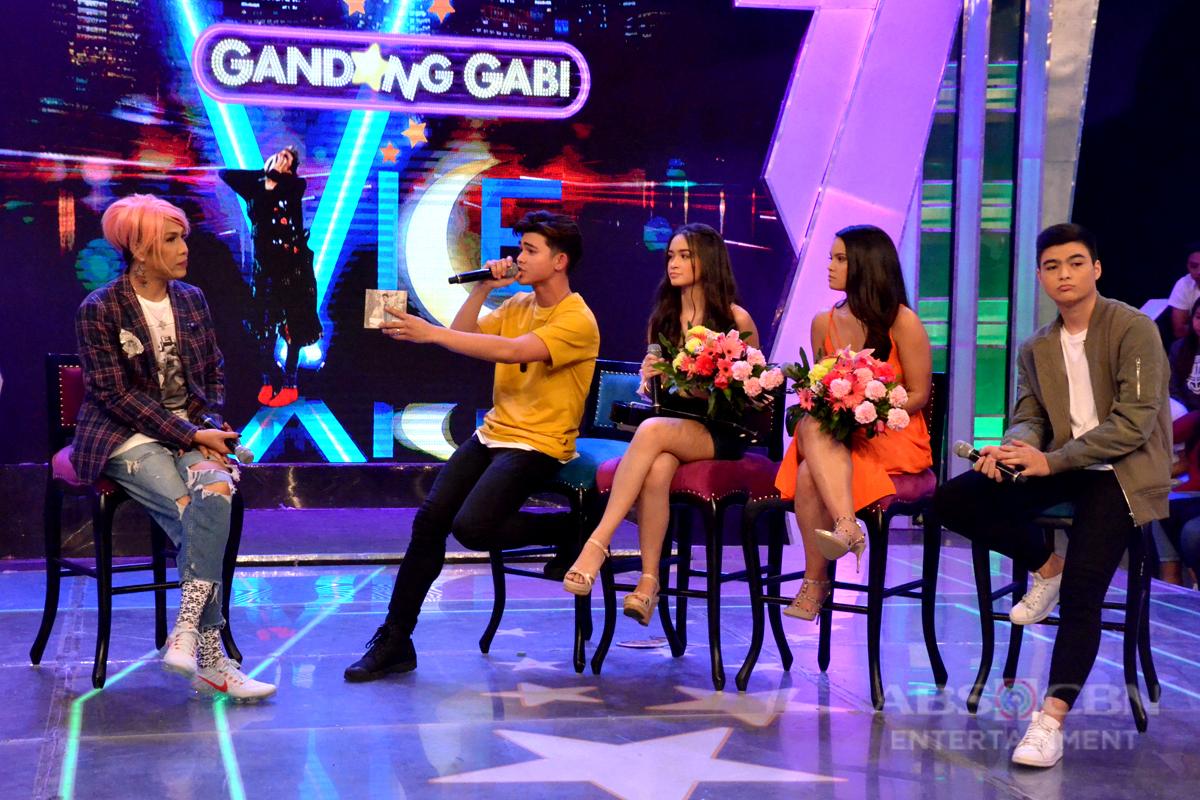 Vice, nararamdamang may mamumuong bagong love team mula kina Angelina, Iñigo, Leila at Andre