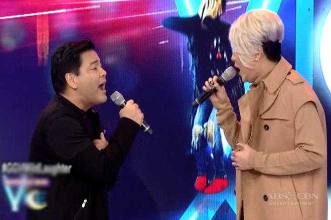 Vice Ganda, hindi nagpahuli sa kanilang duet ni Martin Nievera!