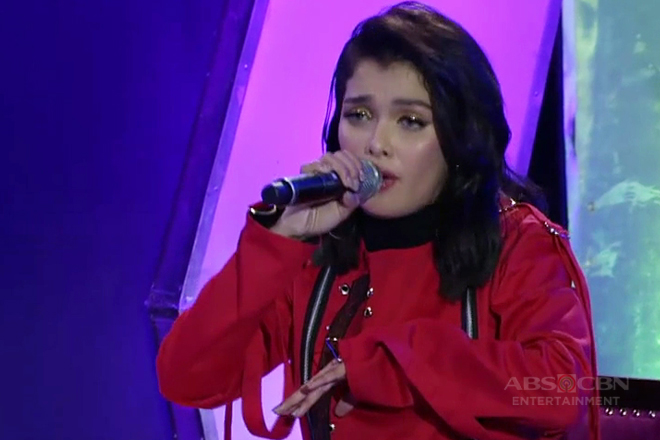 KZ Tandingan sings Lorde's Royals