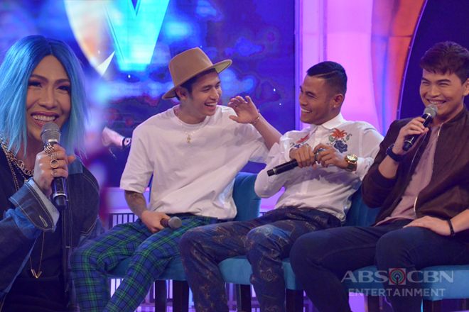 Vice Ganda asks Michael, Bugoy and Daryl: