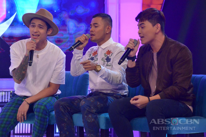 Michael, Bugoy at Daryl, nag-a la Boyz II Men sa kanilang version ng On Bended Knee
