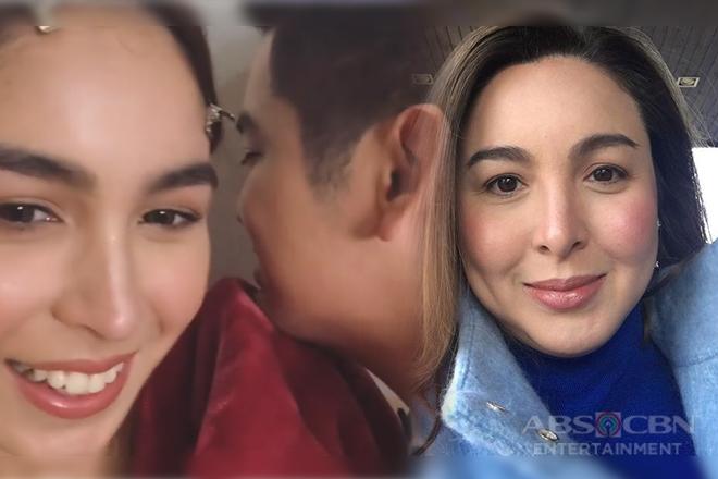 Julia at Joshua, napagsasabihan daw ni Marjorie dahil sa pagiging touchy sa isa't isa?