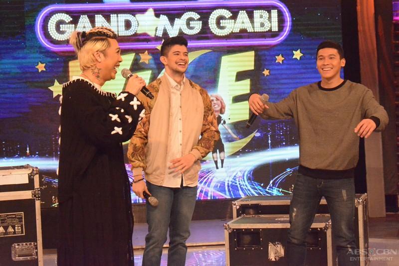 PHOTOS: Ibang level ng kulitan with Rayver and Enchong sa GGV