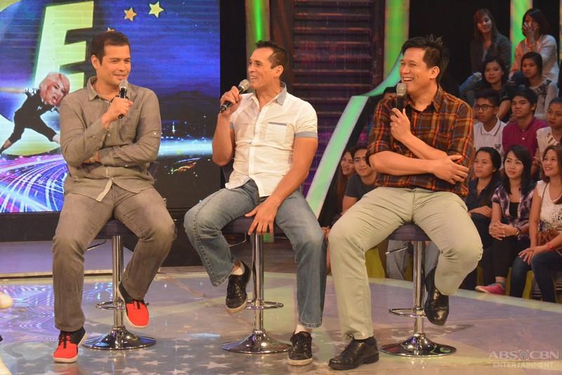 PHOTOS: Kulitan with PBA Legends Alvin, Jerry and Paul on GGV