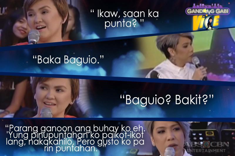 LOOK: Vice Ganda, nakipagsabayan sa Reyna ng Hugot na si Angelica