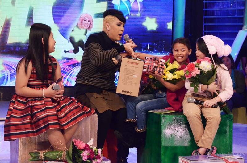 PHOTOS: Lyca, Elha and Esang join forces on GGV