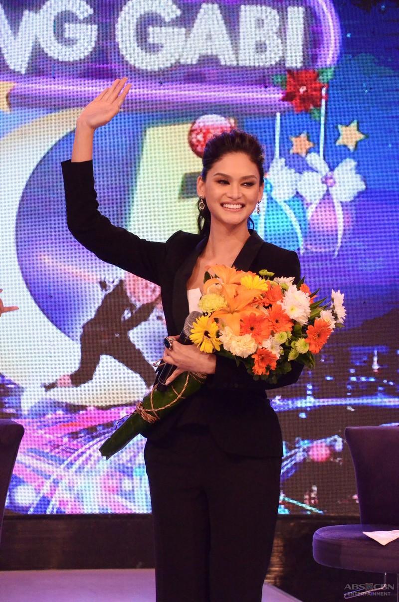 PHOTOS: #GGVHelloChristmas with Bb Pilipinas Universe 2015 Pia Wurtzbach