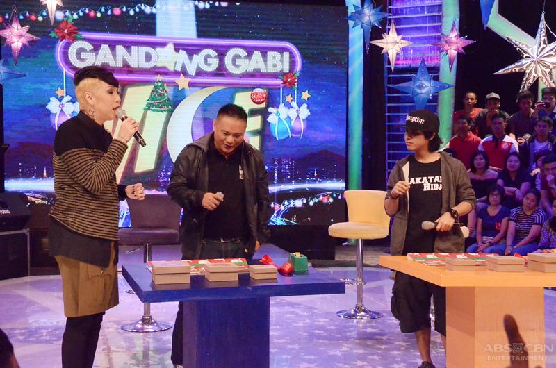 PHOTOS: Bigay-todo ang kulitan sa GGV kasama sina Andrew E at Abra