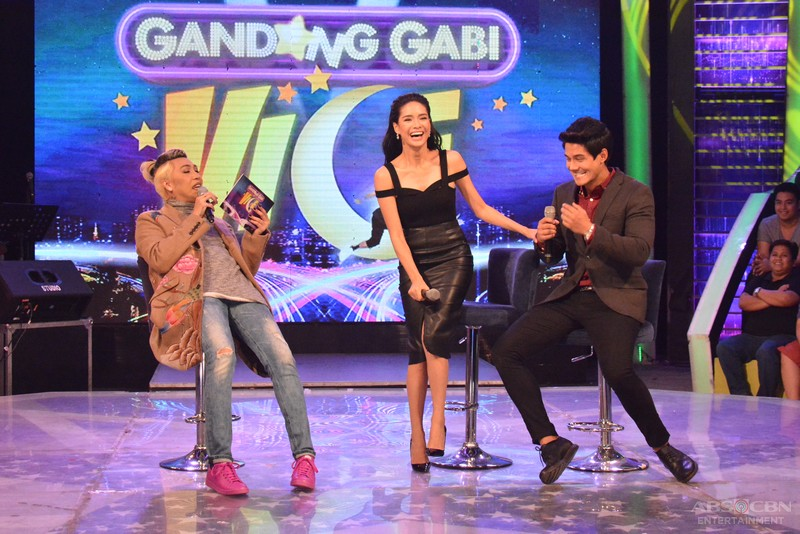 PHOTOS: Kilig vibes on GGV with sweet couple Daniel and Erich
