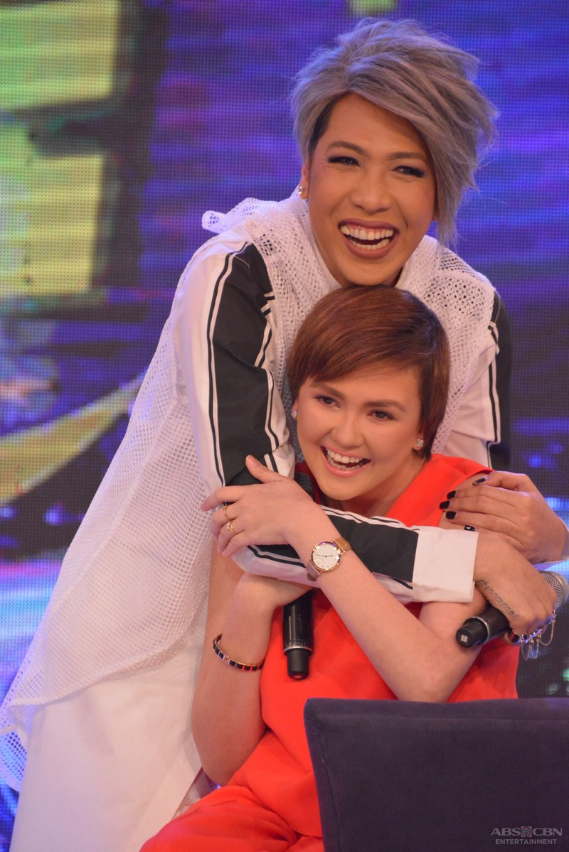 PHOTOS: Hugot Queen Angelica Panganiban one-on-one with the Unkabogable Vice Ganda