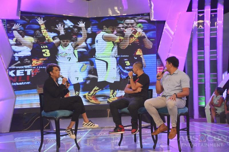 PHOTOS:#GGVJustForFun with Kristel & CJ and Basketball players Paul Lee and Beau Belga