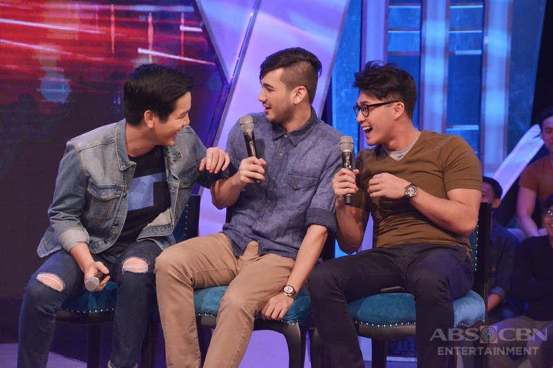 PHOTOS: #GGVTheGreatestLaugh with Joshua, Arron and Matt