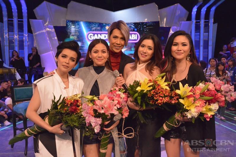 PHOTOS: Divas Kyla, Angeline, KZ at Yeng on GGV