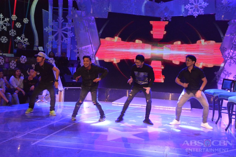 PHOTOS: #GGVHappyNewYey with Vhong, Jhong and The Streetboys
