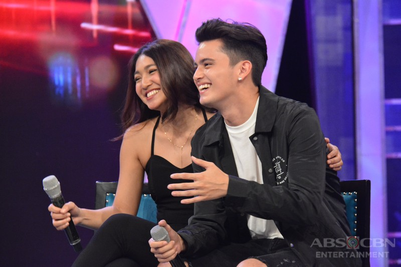 #GGVJaDineInLaugh: Up close and personal with James and Nadine on GGV
