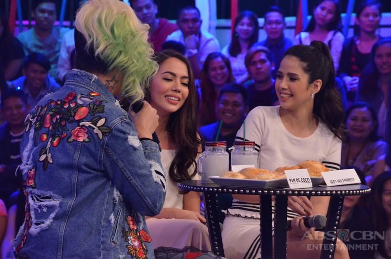 PHOTOS: #GGVDobleTawa with Julia and Maxene