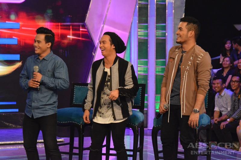 PHOTOS: #GGVWinnerSaSaya with Tawag Ng Tanghalan Top 3 Noven, Sam & Froilan