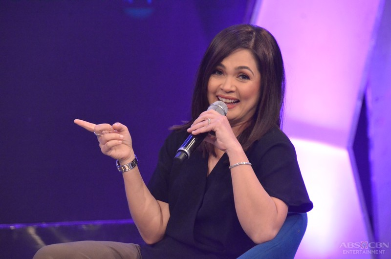 PHOTOS: Chikahan at kulitan with the Teleserye Queen Judy Ann Santos on GGV