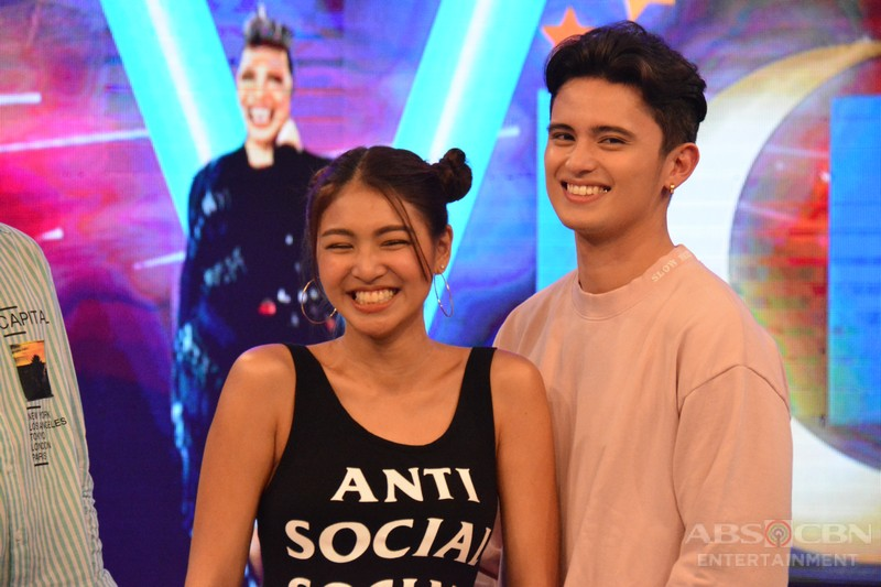 IN PHOTOS: Nadine spotted fangirling over James in GGV