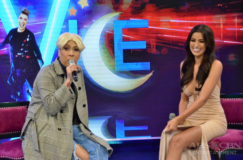 PHOTOS: Miss Universe Philippines 2017 Rachel Peters visits GGV