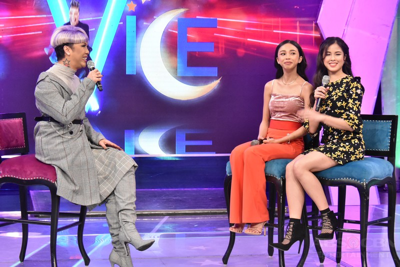 PHOTOS: #GGVAngLucky with Maymay and Kisses