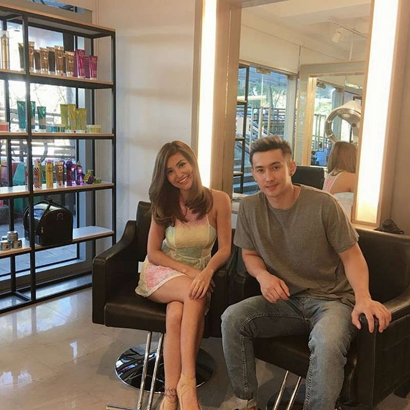 "LOOK: Nathalie Hart with her ""overprotective"" brother"