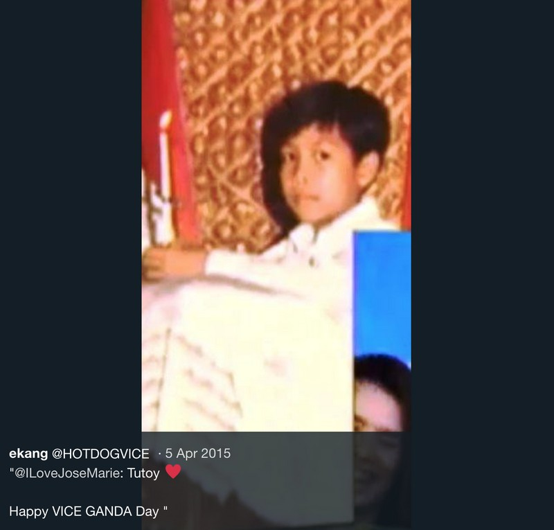 From Tutoy to Vice Ganda: Balikan ang ilang throwback photos ni Jose Marie Viceral!