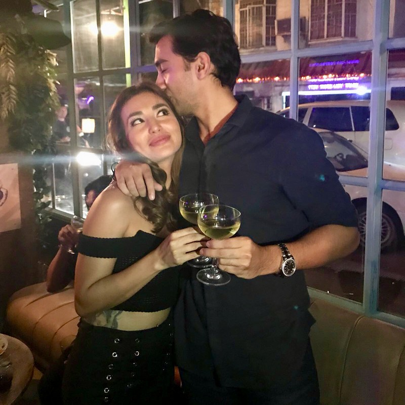 IN PHOTOS: Nathalie Hart's precious moments with her future husband!