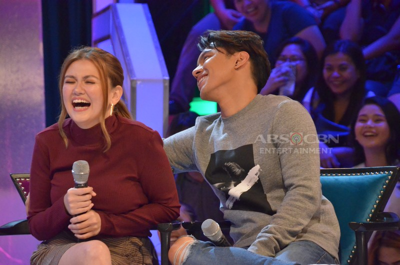 PHOTOS: Angelica Panganiban and Carlo Aquino on GGV