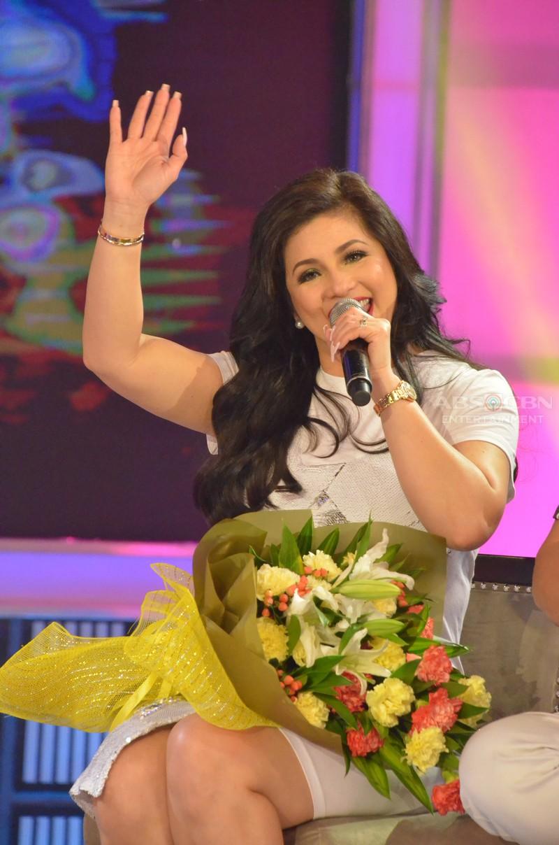 PHOTOS: Asia's Songbird Regine Velasquez first time on GGV